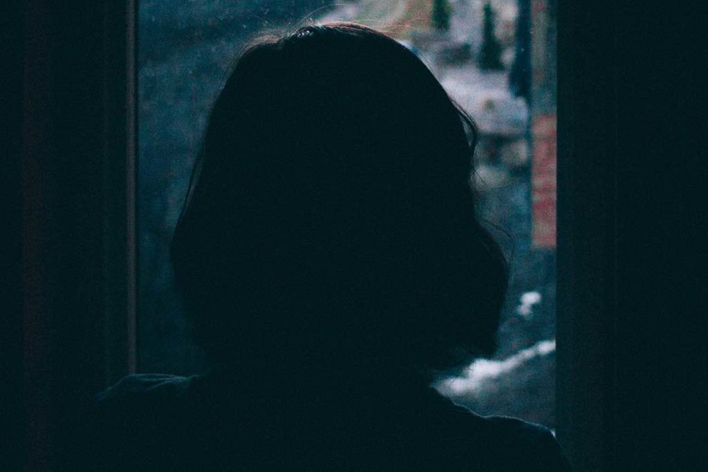 ahdistuneen voi olla vaikea poistua kotoaan
