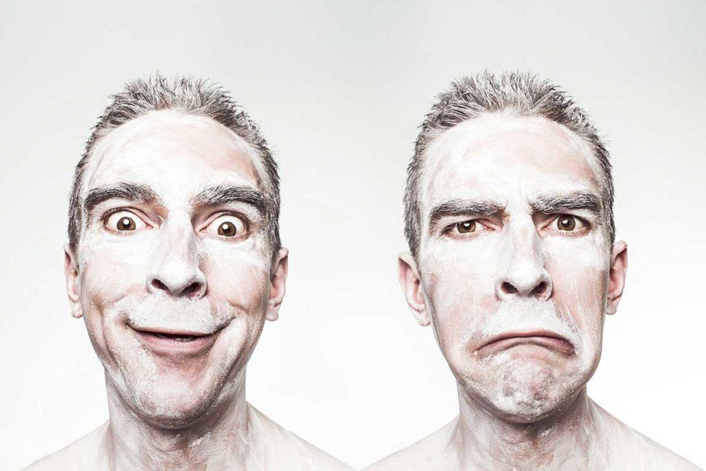 kasvojen ilmeet ja tunteet