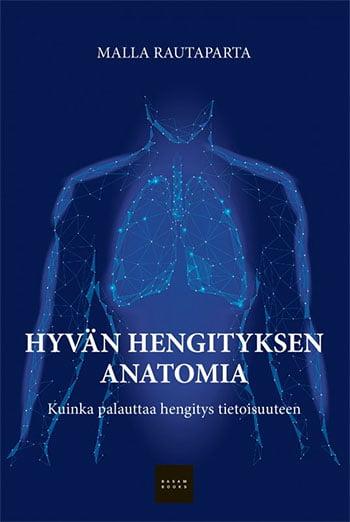 Hyvän hengityksen anatomia -kirjan kansikuva
