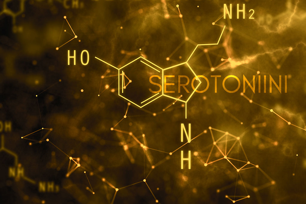 serotoniinimolekyyli
