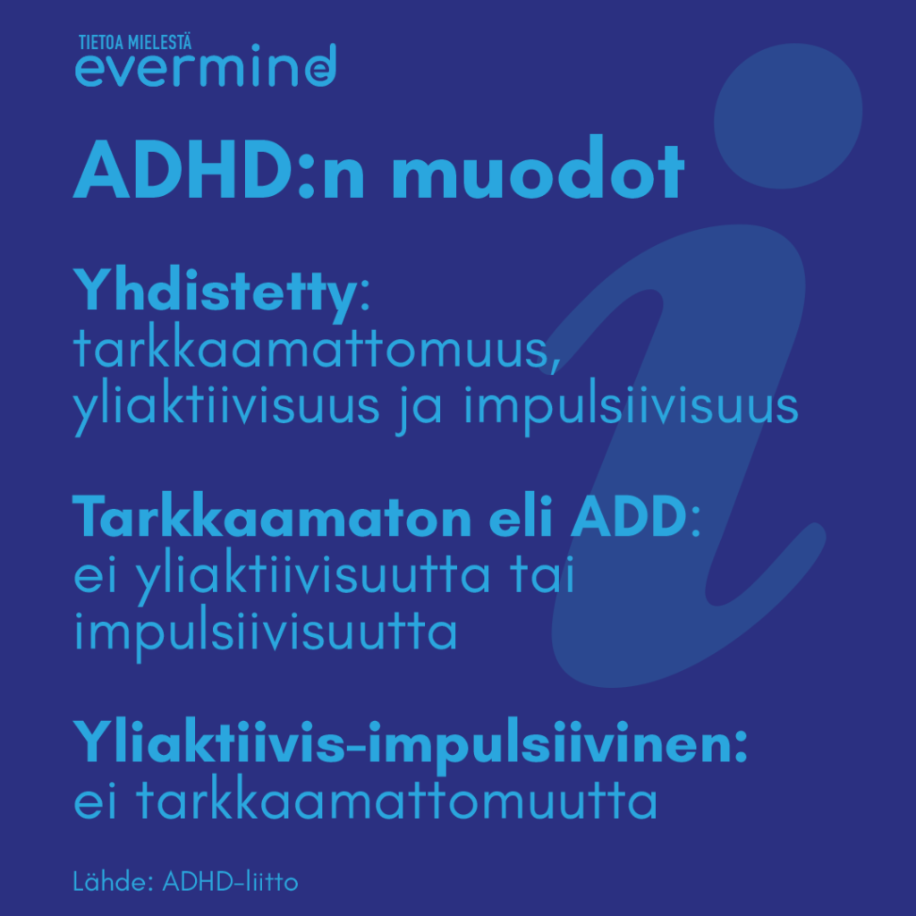 ADHD tyypit