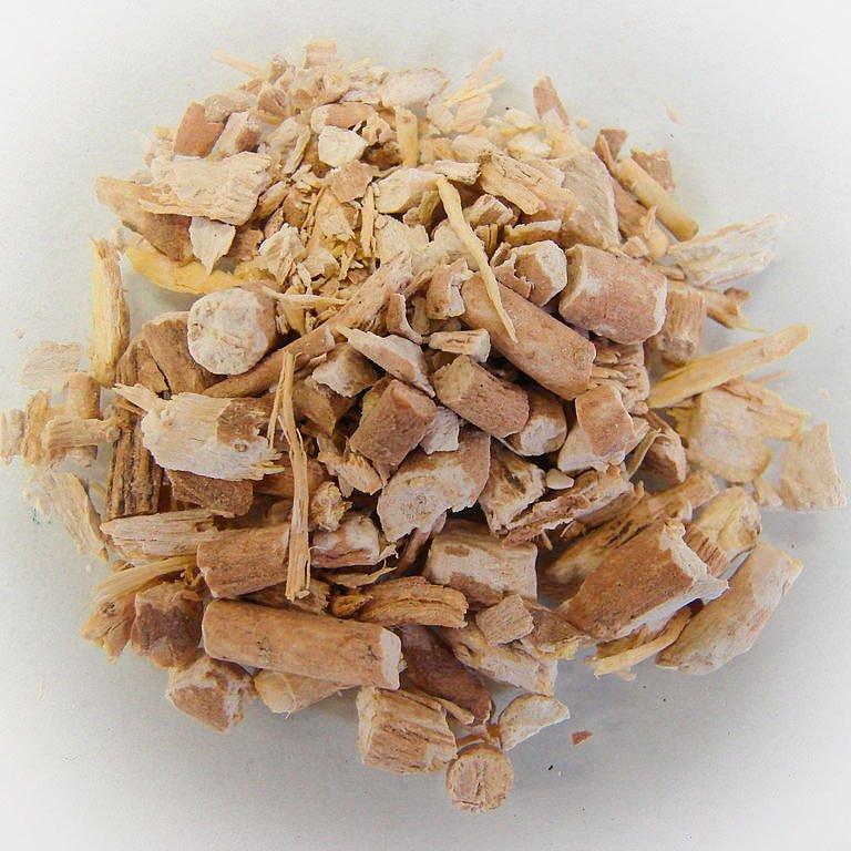 Ashwagandhan eli rohtokoision kuivattua juurta.